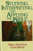 Studying Interpreting and Applying the Bible-cover